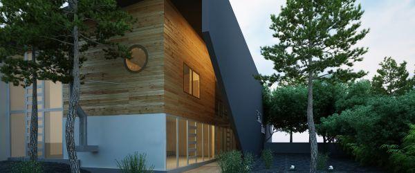 bardage bois facade
