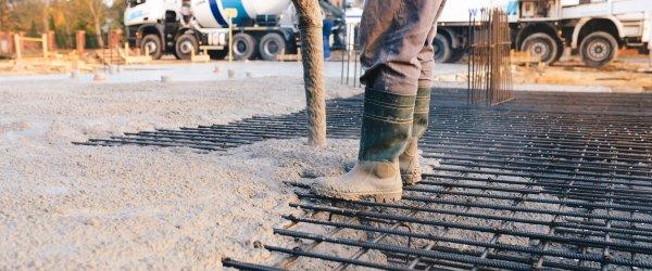 dalle beton lisse