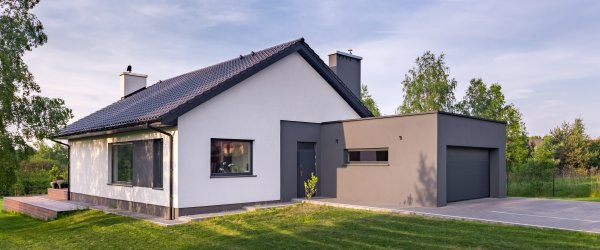 extension maison acier