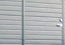 garage avec portillon