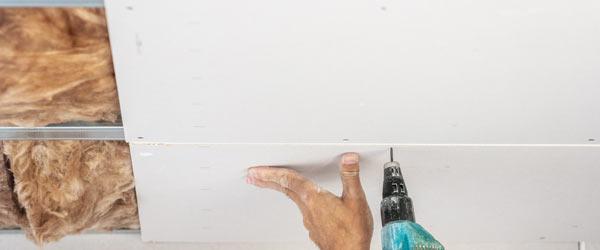 installation placo plafond