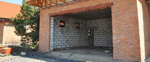 ouverture mur garage