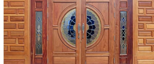porte entree bois haut de gamme