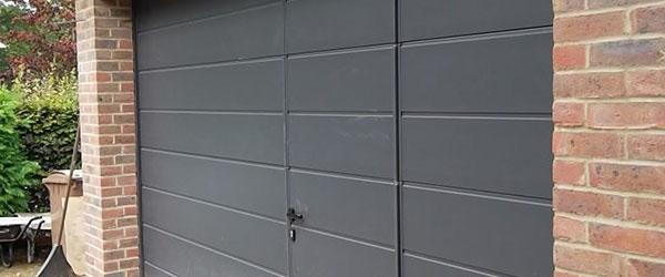porte garage portillon