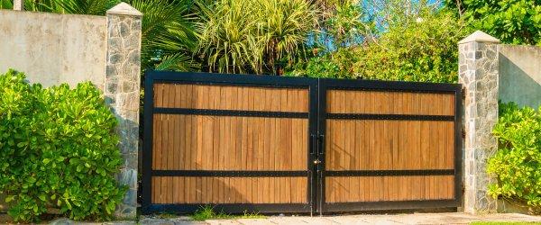 prix portail bois