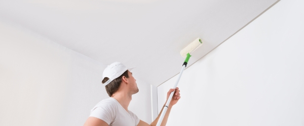 renovation peinture plafond