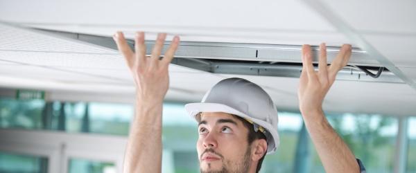 renovation plafond PVC